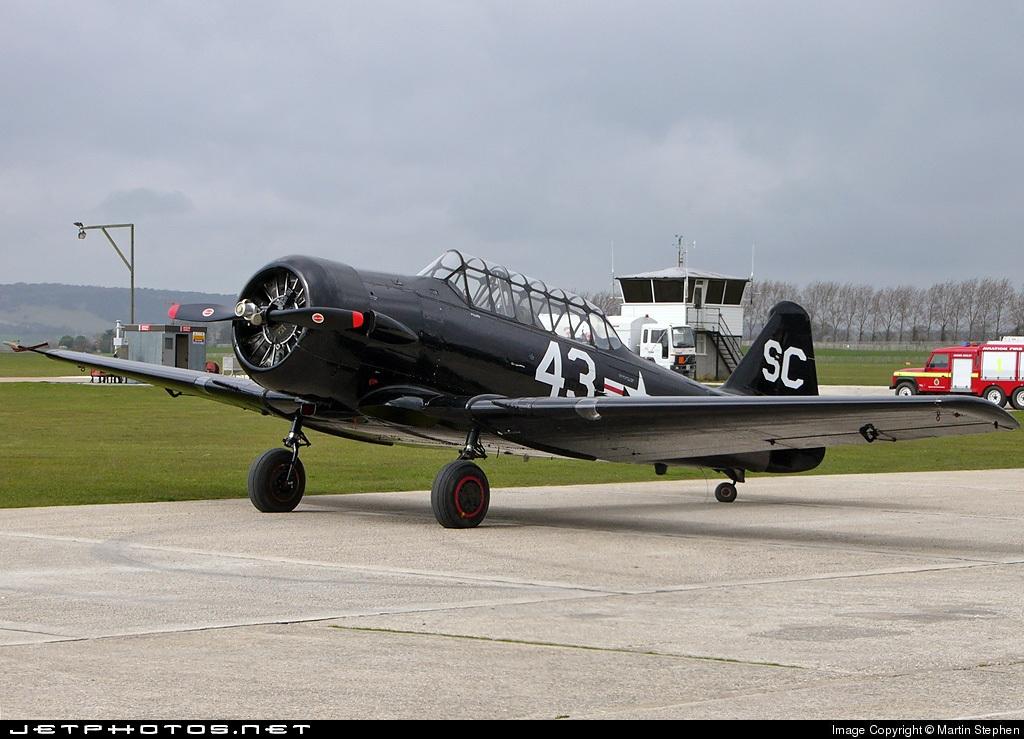 G-AZSC - North American T-6 Harvard - Private
