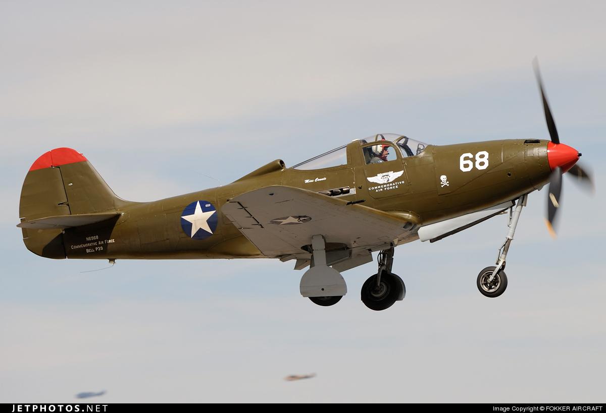 N6968 - Bell P-39Q Airacobra - Commemorative Air Force