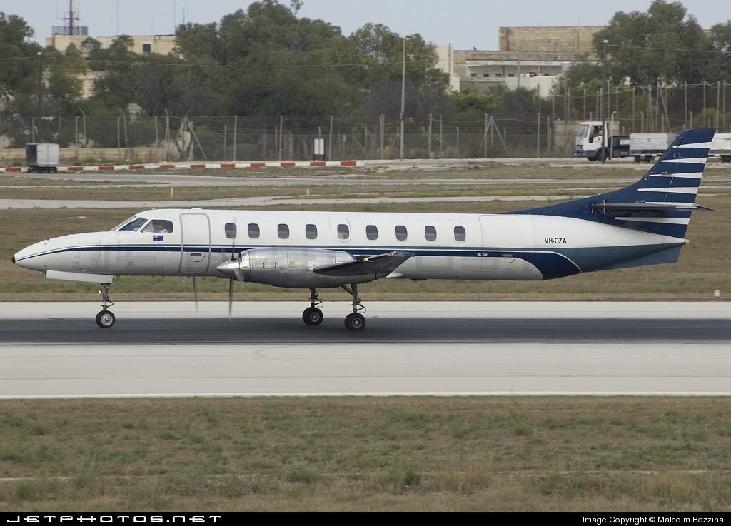 VH-OZA - Fairchild SA227-AC Metro III - Avtex Air Services