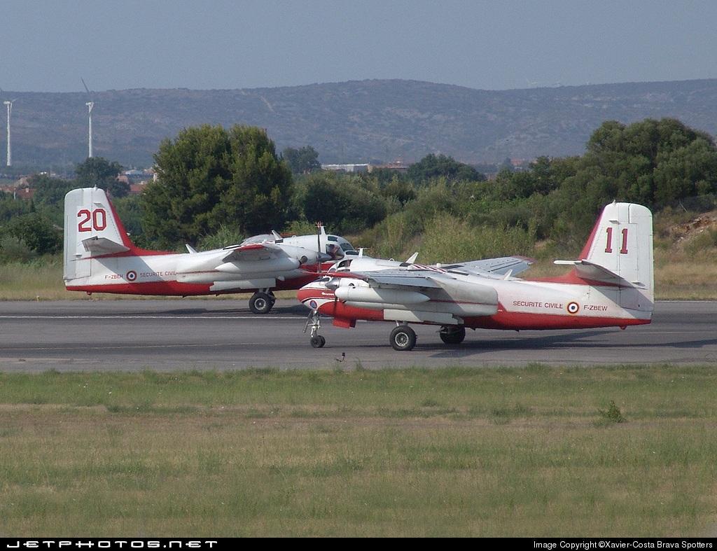 F-ZBEW - Conair S-2 Turbo Firecat - France - Sécurité Civile