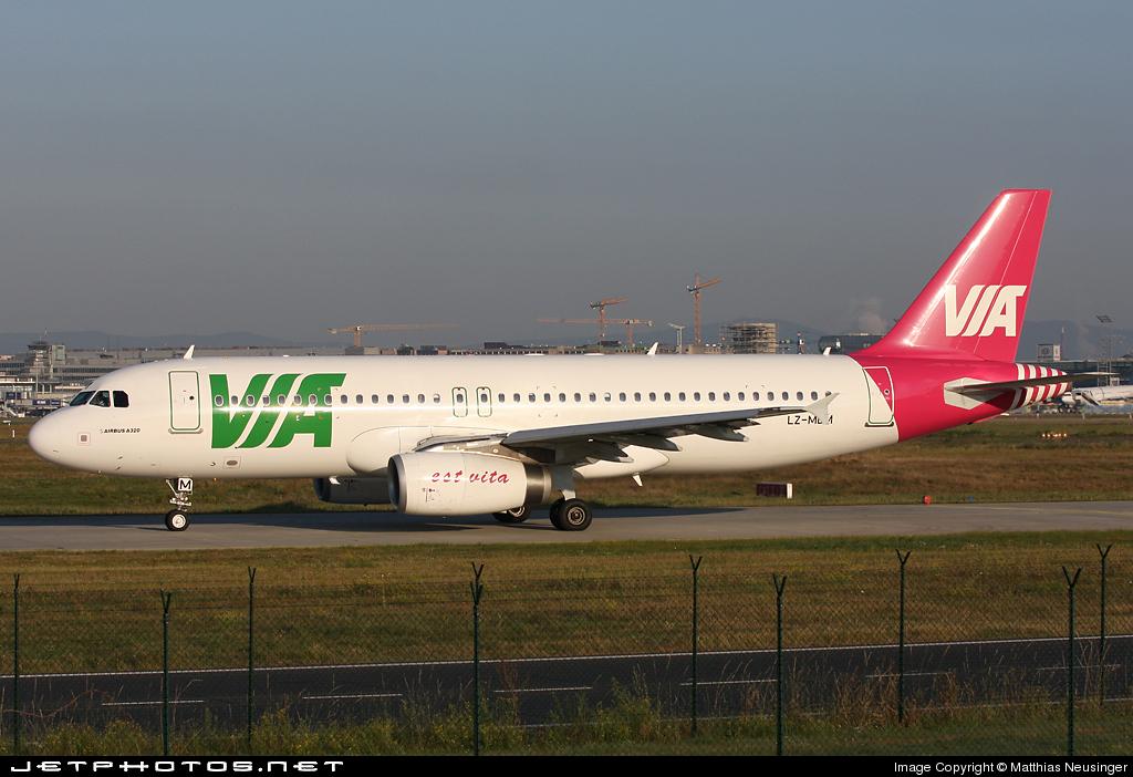 LZ-MDM - Airbus A320-232 - Air Via