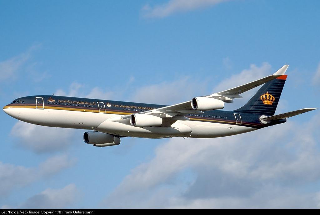JY-ABH - Airbus A340-211 - Jordan - Government