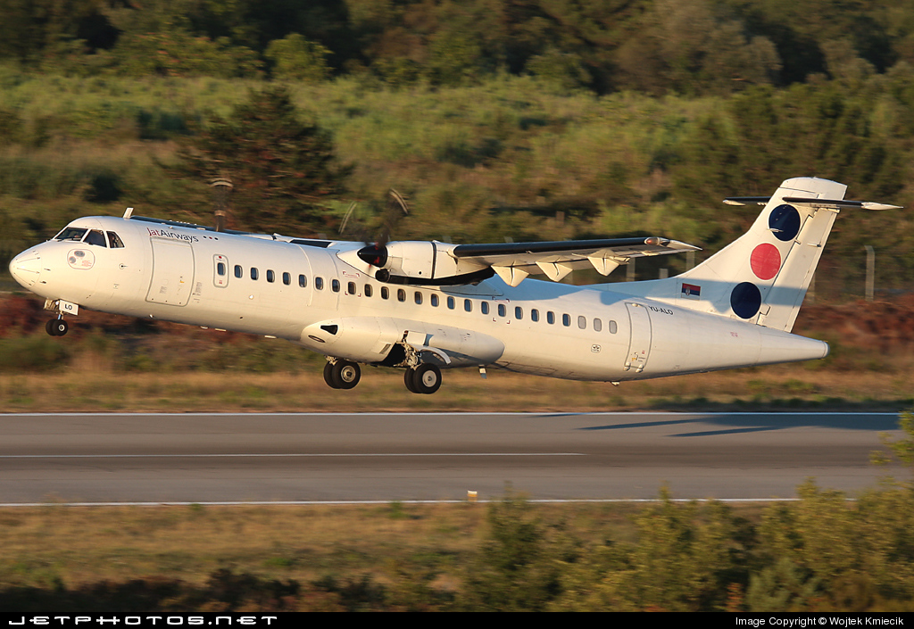 YU-ALO - ATR 72-202 - Jat Airways