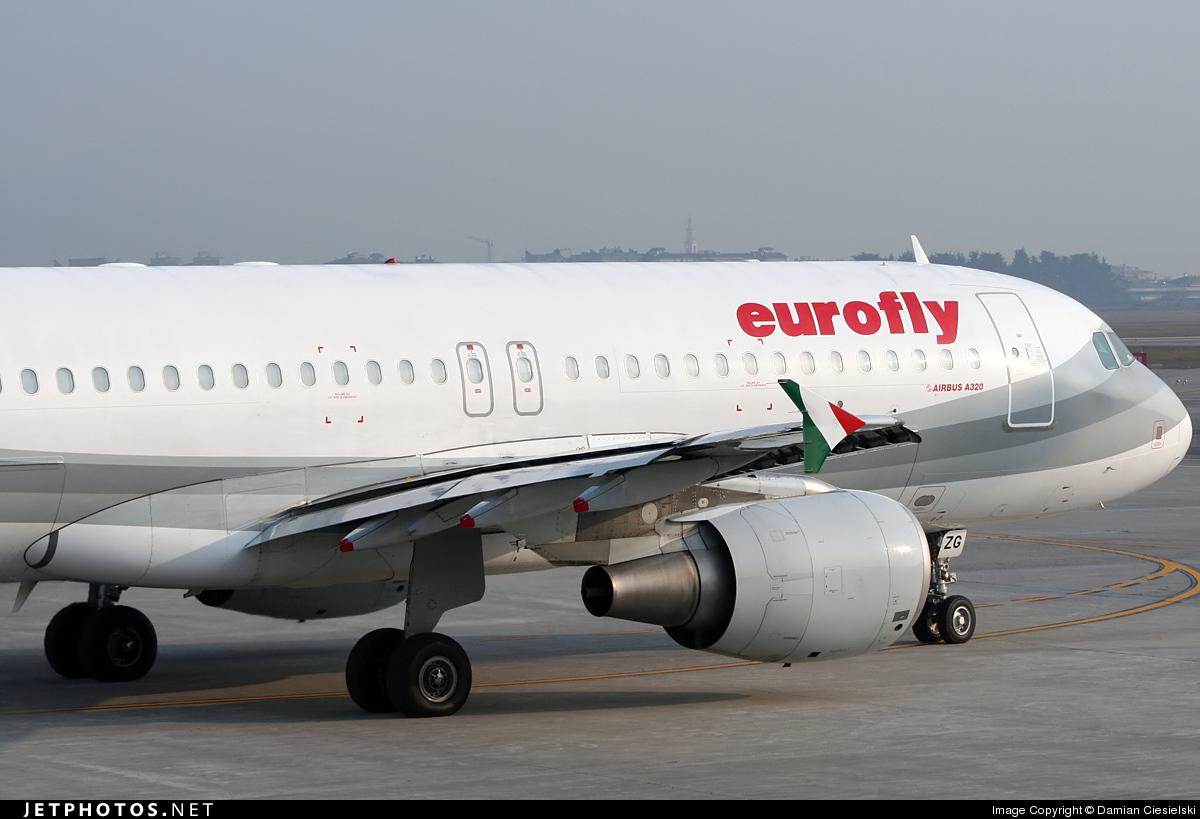 I-EEZG - Airbus A320-214 - Eurofly