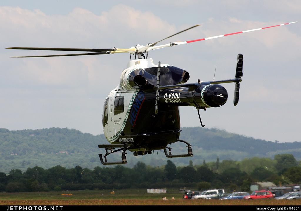 G-KSSH - McDonnell Douglas MD-900 Explorer - Surrey Air Ambulance
