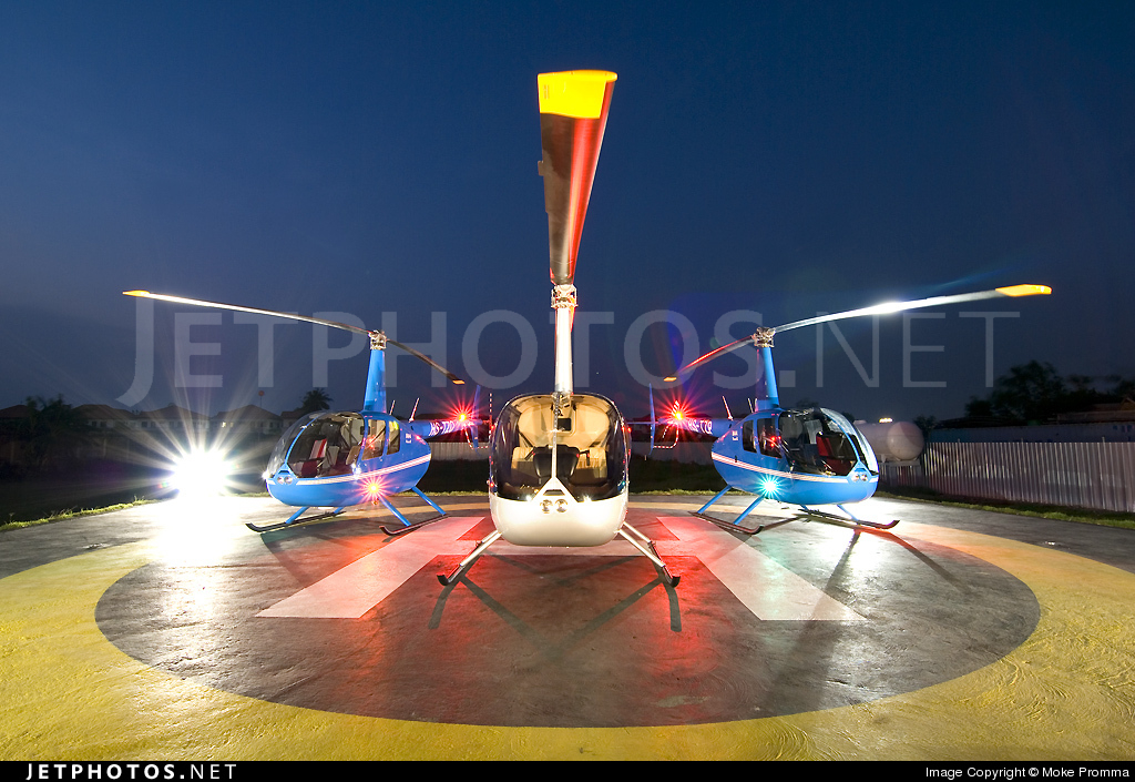 HS-PLL - Robinson R44 Raven II - Heliluck Aviation