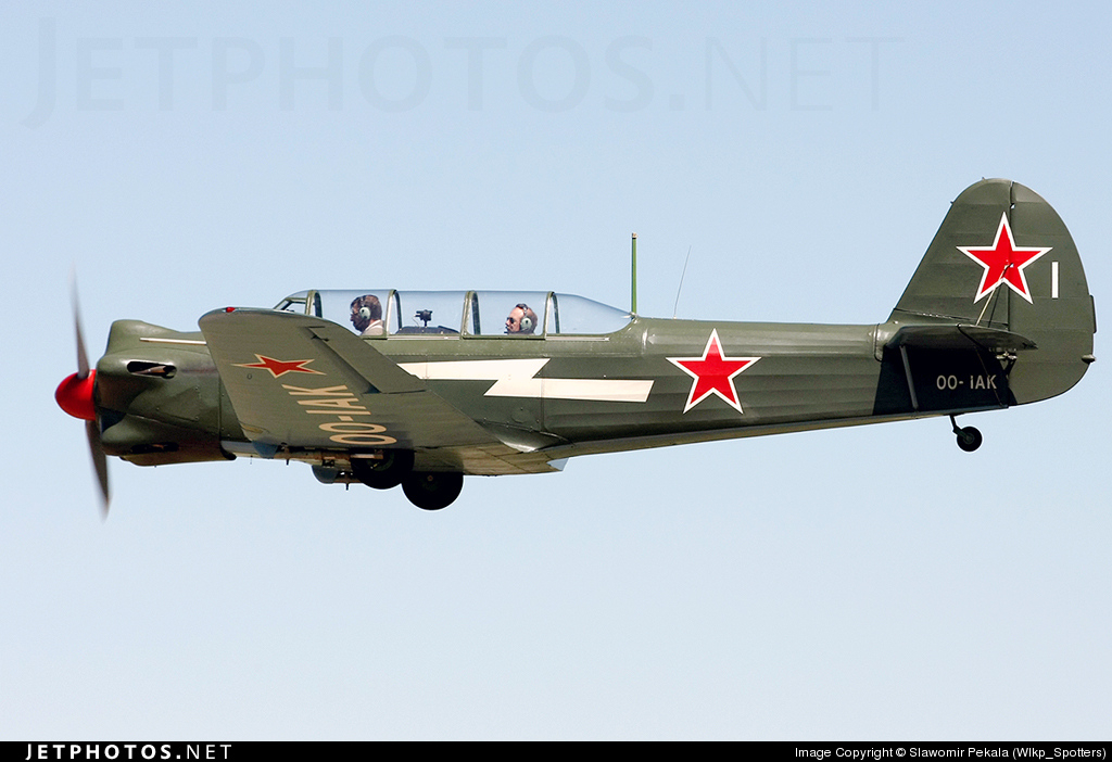 OO-IAK - Nanchang CJ-5 - Private