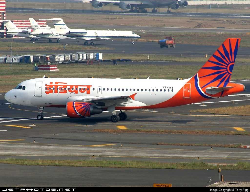 VT-SCB - Airbus A319-112 - Indian Airlines
