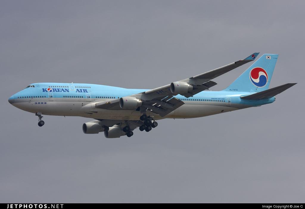HL7472 - Boeing 747-4B5 - Korean Air