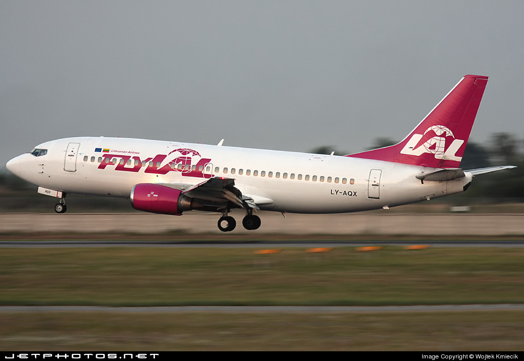 LY-AQX - Boeing 737-322 - flyLAL - Lithuanian Airlines