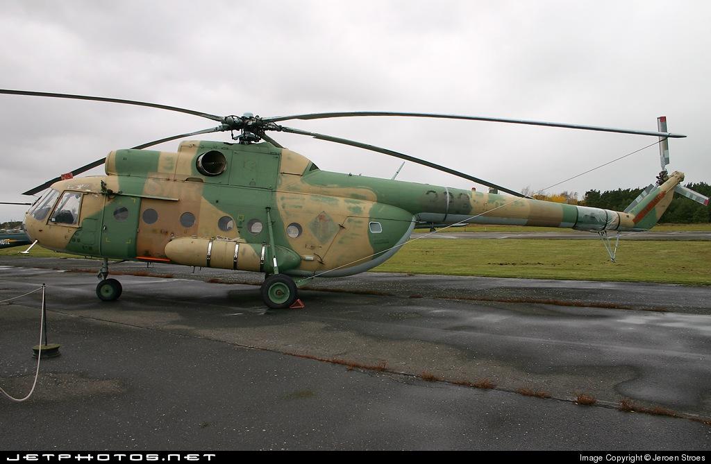 93-01 - Mil Mi-8 Hip - Germany - Air Force
