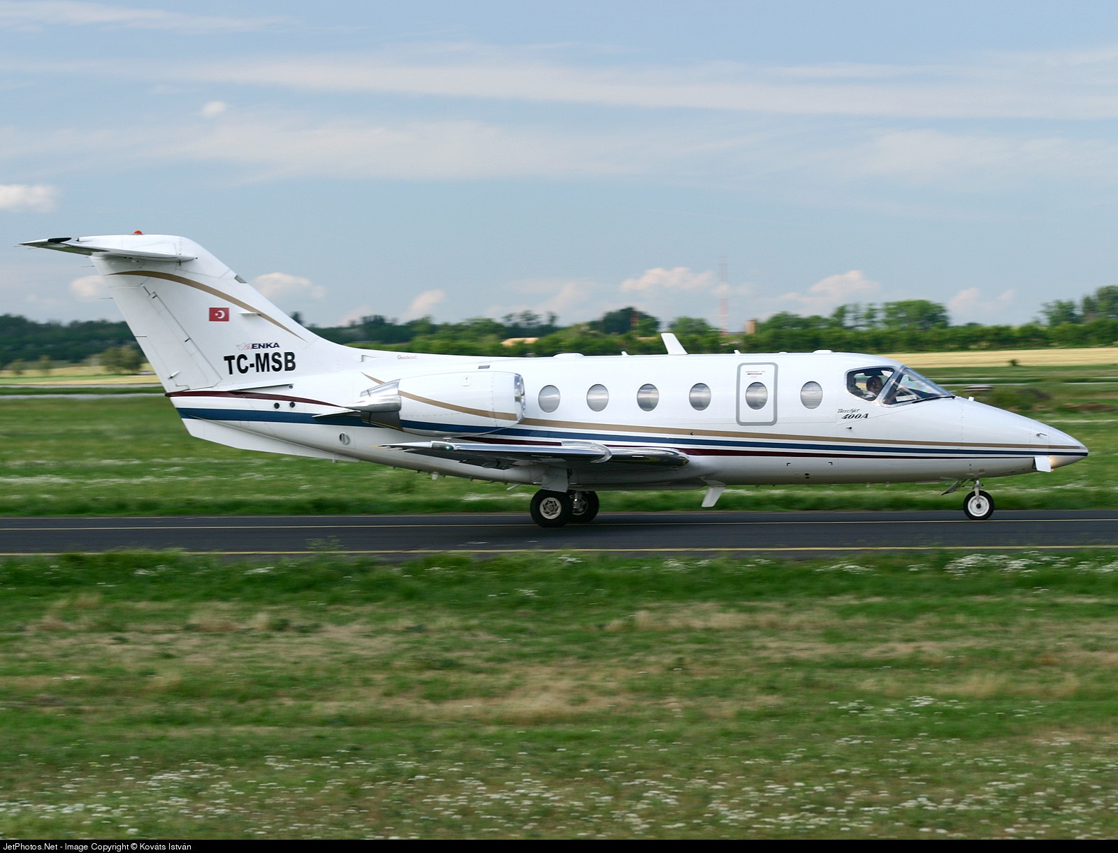 TC-MSB - Beechcraft 400A Beechjet - Skyline Ulasim Ticaret