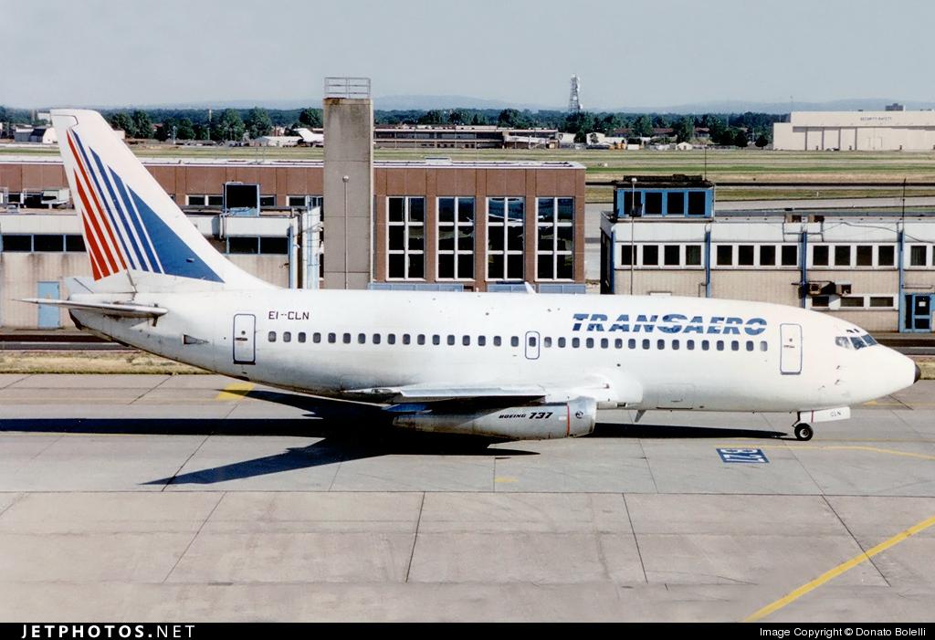 EI-CLN - Boeing 737-2C9(Adv) - Transaero Airlines