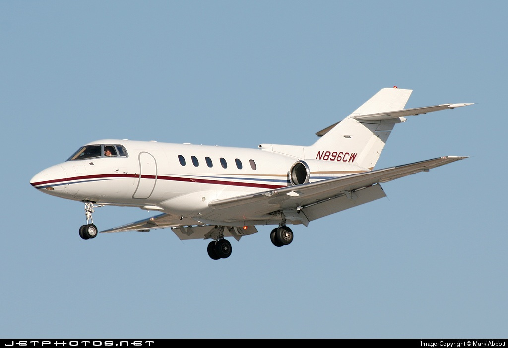 N896CW - Raytheon Hawker 800XP - Flight Options