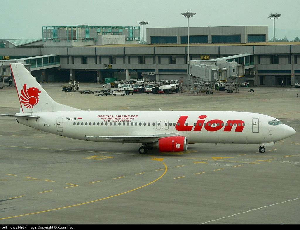 PK-LII - Boeing 737-4Y0 - Lion Air