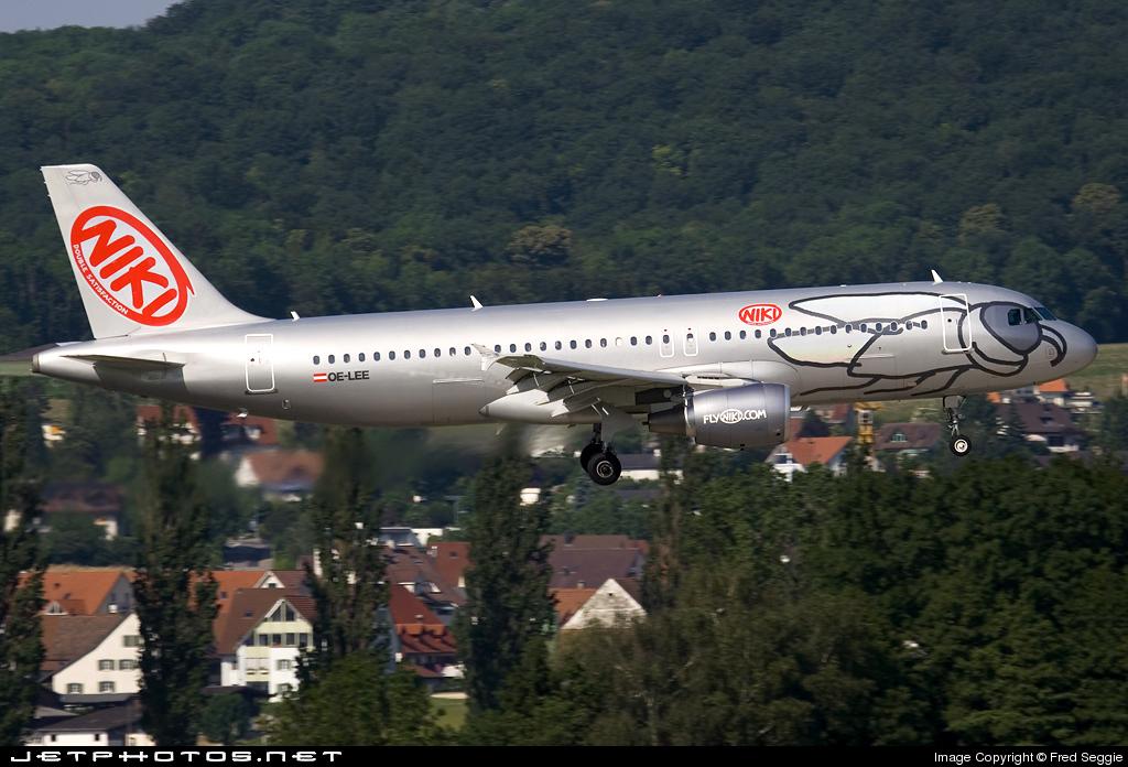 OE-LEE - Airbus A320-214 - Niki