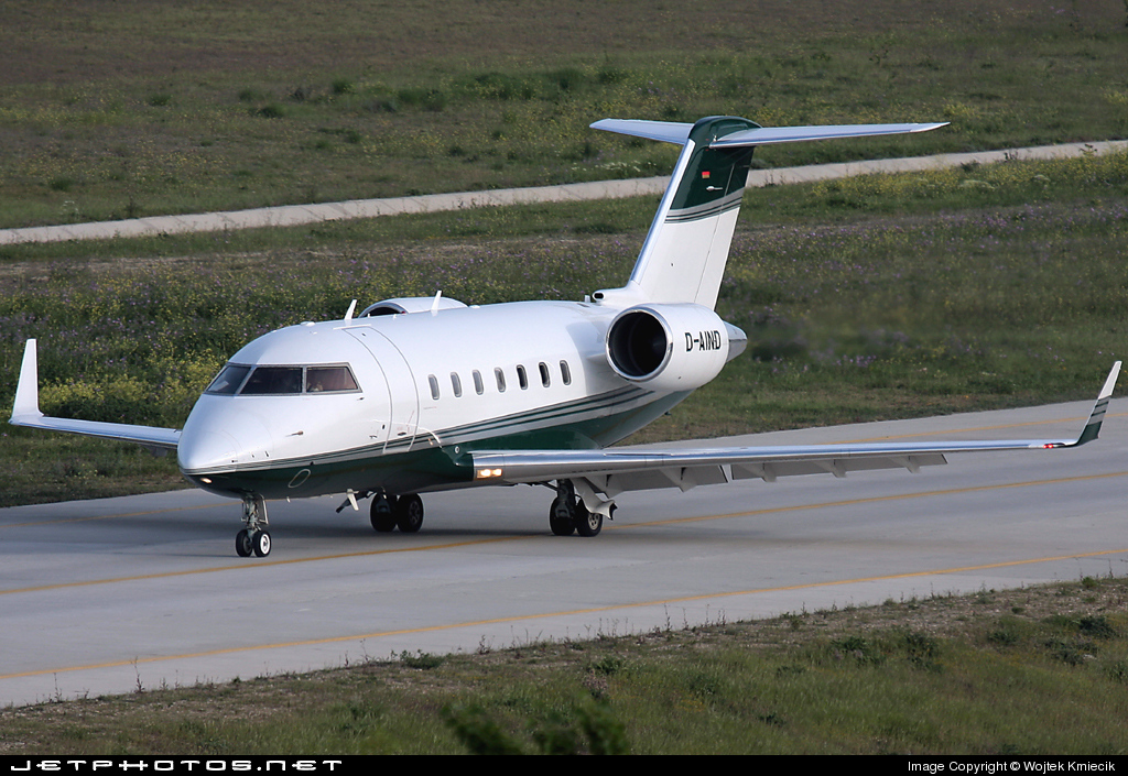 D-AIND - Bombardier CL-600-2B16 Challenger 604 - Air Independence