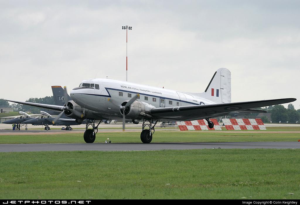 G-AMPY - Douglas C-47B Skytrain - Air Atlantique