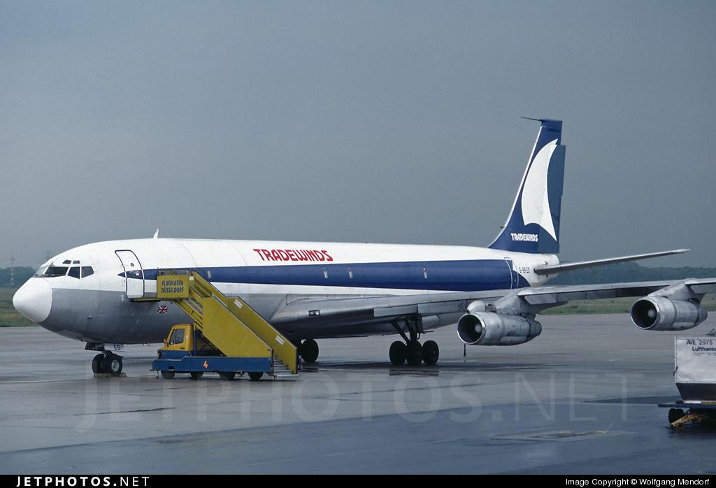 G-BFEO - Boeing 707-323C - Tradewinds Airways