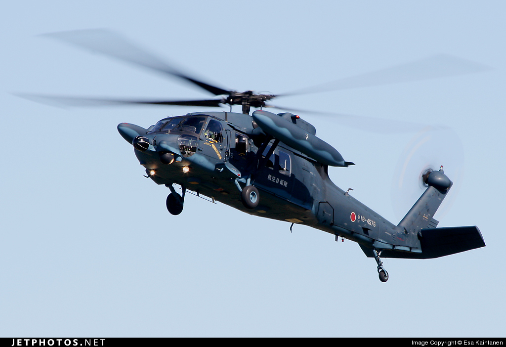 18-4576 - Mitsubishi UH-60J - Japan - Air Self Defence Force (JASDF)