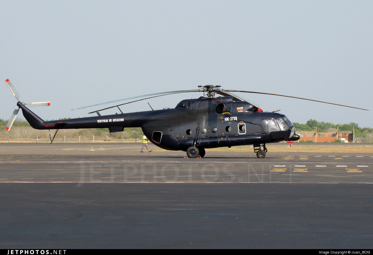 HK-3758 - Mil Mi-8 Hip - Vertical de Aviación