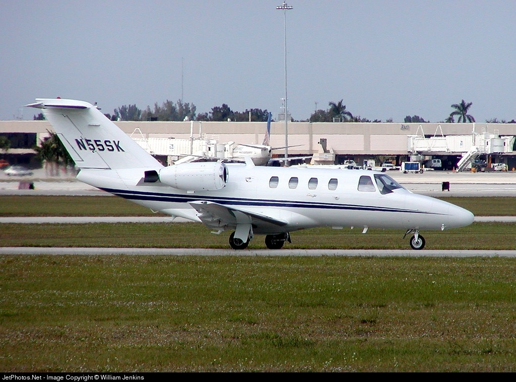 N55SK - Cessna 525 CitationJet 1 - Skyline