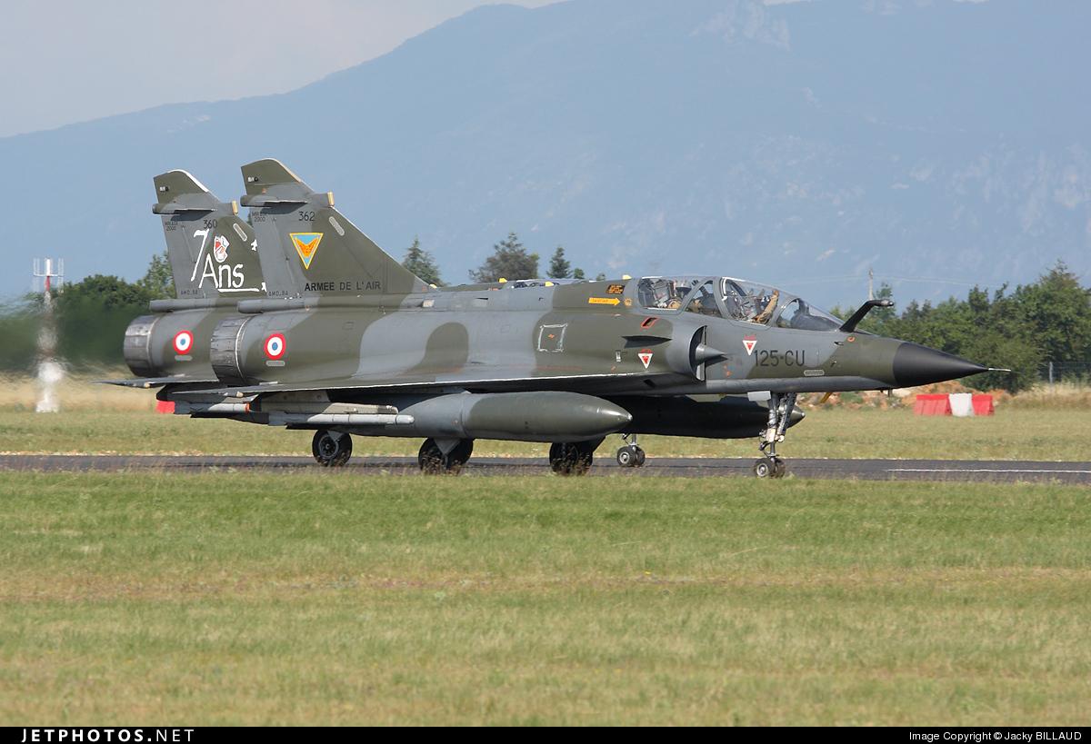 362 - Dassault Mirage 2000N - France - Air Force