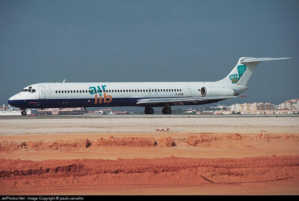 F-GPZE - McDonnell Douglas MD-82 - Air Lib
