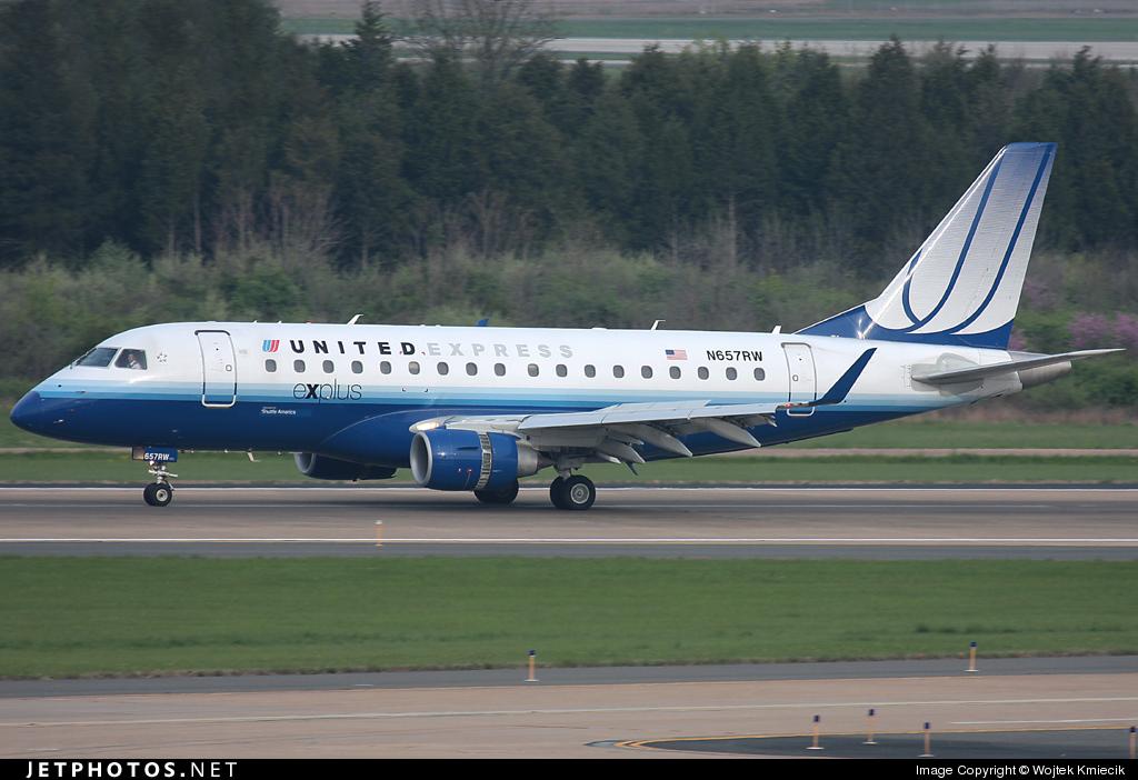 N657RW - Embraer 170-100SE - United Express (Shuttle America)