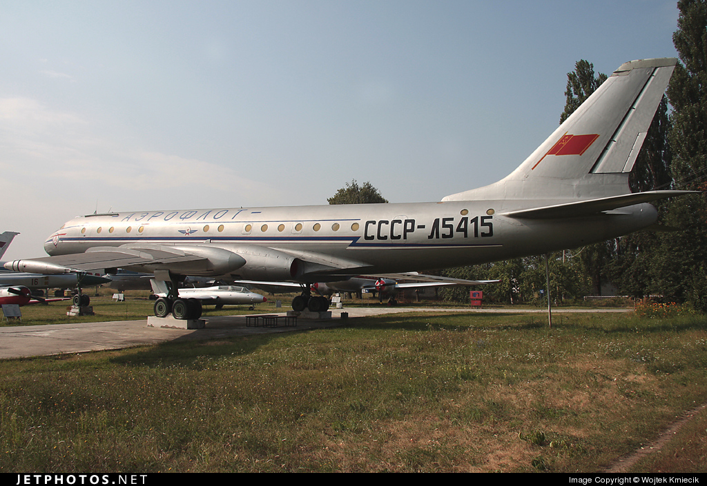 CCCP-L5415 - Tupolev Tu-104 - Aeroflot