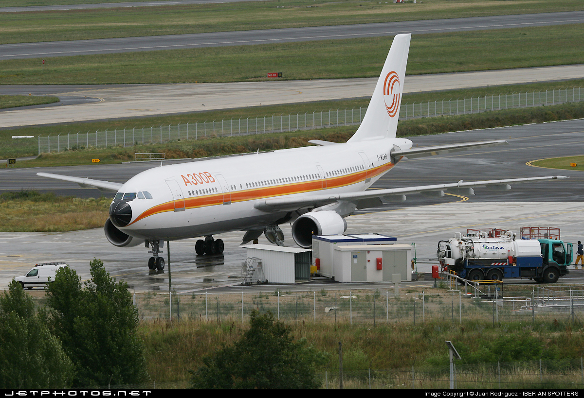 F-WUAB - Airbus A300B4-203 - Airbus Industrie