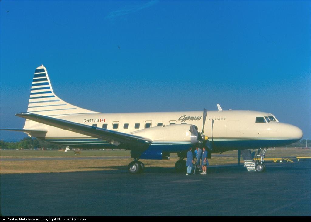 C-GTTG - Convair CV-580 - Cypress Airways