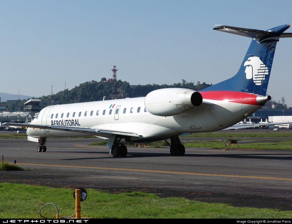 XA-PLI - Embraer ERJ-145ER - Aerolitoral