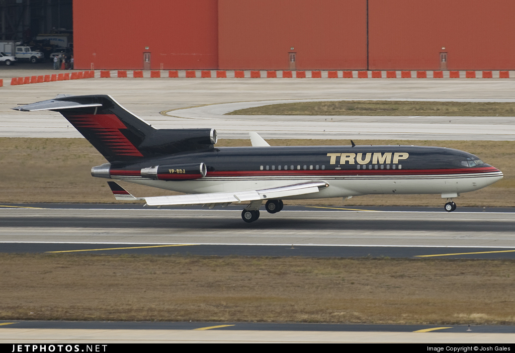 VP-BDJ - Boeing 727-23 - Private