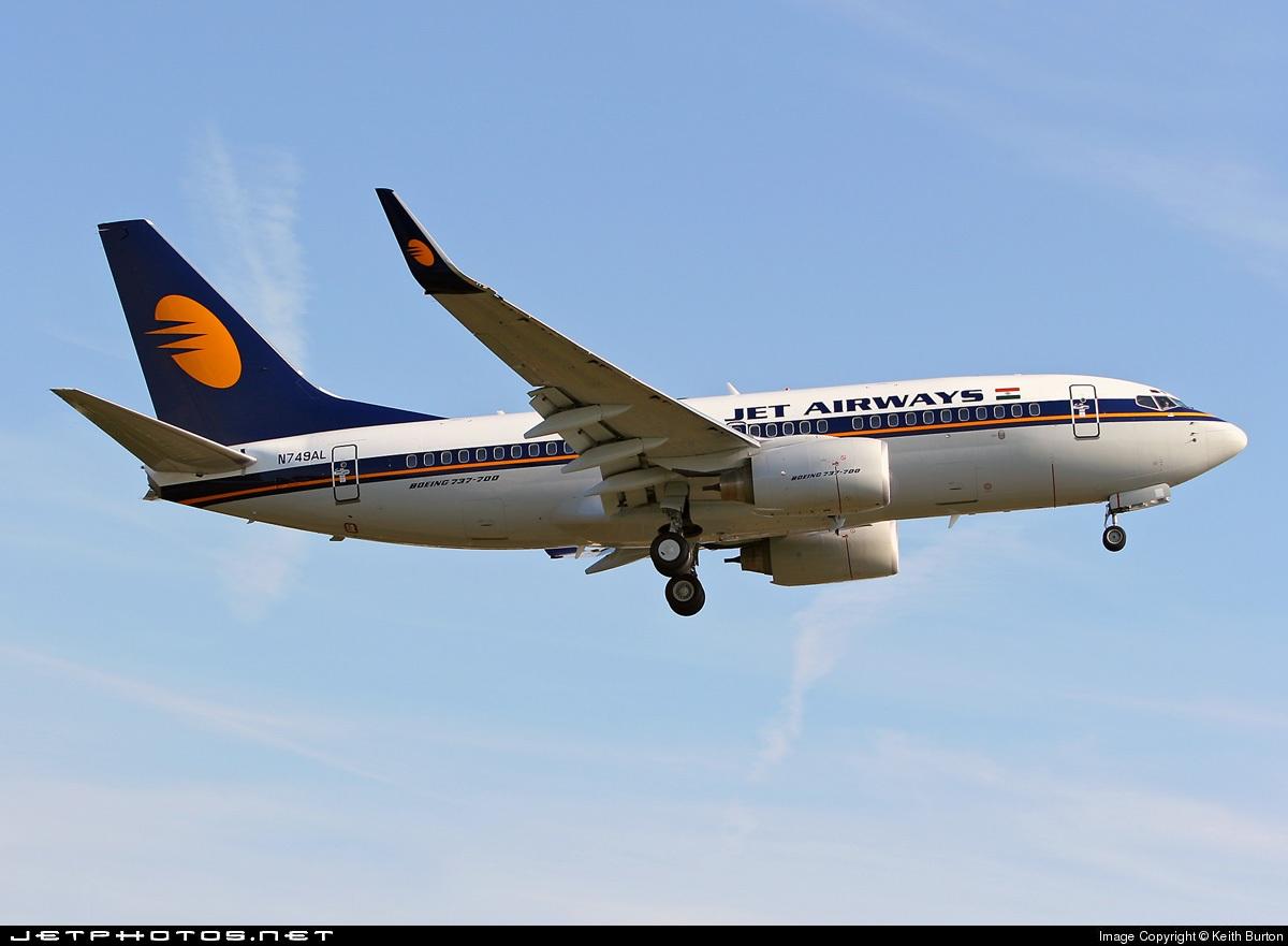 N749AL - Boeing 737-76N - Jet Airways