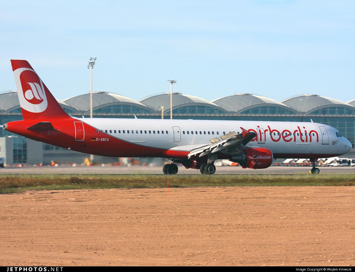 D-ABCA - Airbus A321-211 - Air Berlin