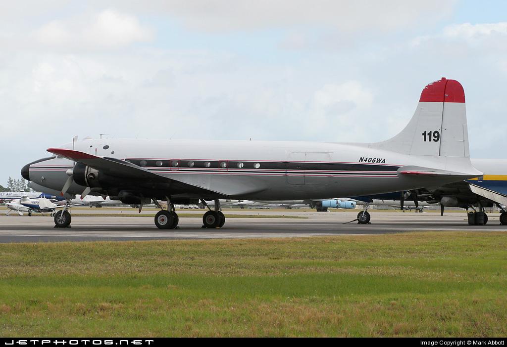 N406WA - Douglas C-54G Skymaster - ARDCO