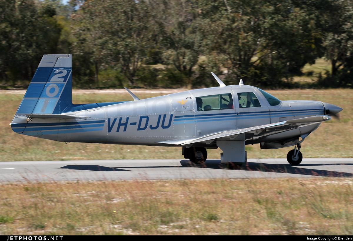 VH-DJU - Mooney M20J - Private