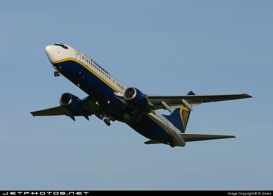 EI-DHY - Boeing 737-8AS - Ryanair