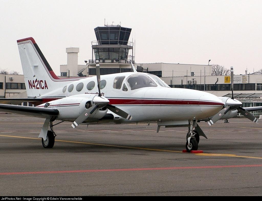 N421CA - Cessna 421C Golden Eagle - Untitled