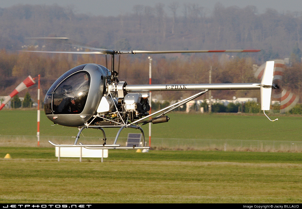 F-PDAK - Aerokopter AK1-3 - Private