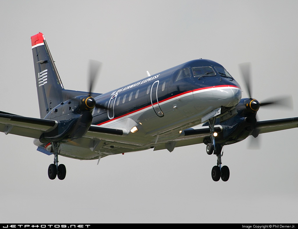 N341SB - Saab 340B - US Airways Express (Chautauqua Airlines)
