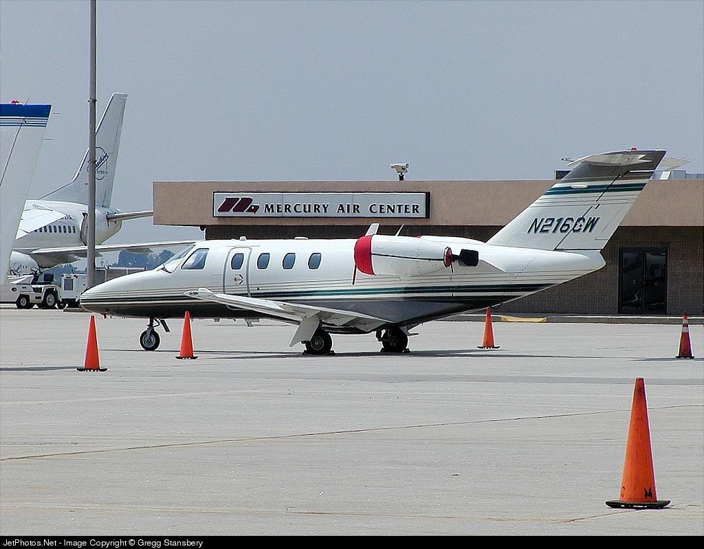 N216CW - Cessna 525 CitationJet 1 - Flight Options