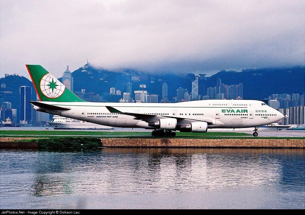 N408EV - Boeing 747-45E(M) - Eva Air