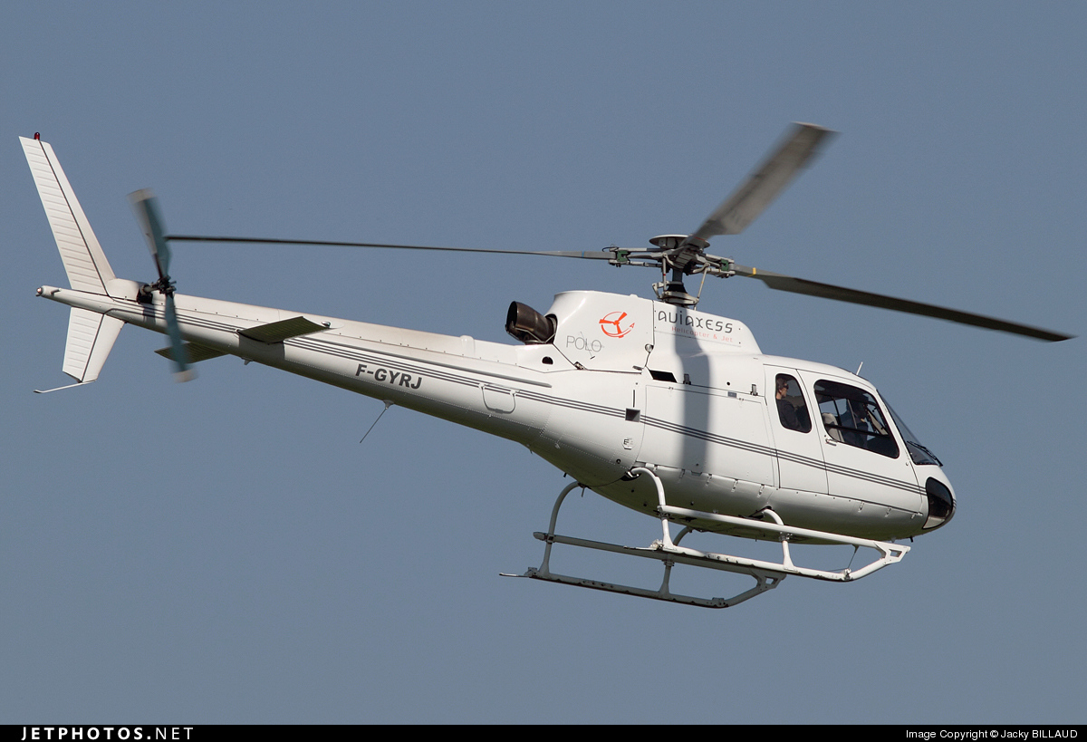 F-GYRJ - Aérospatiale AS 350B2 Ecureuil - Private
