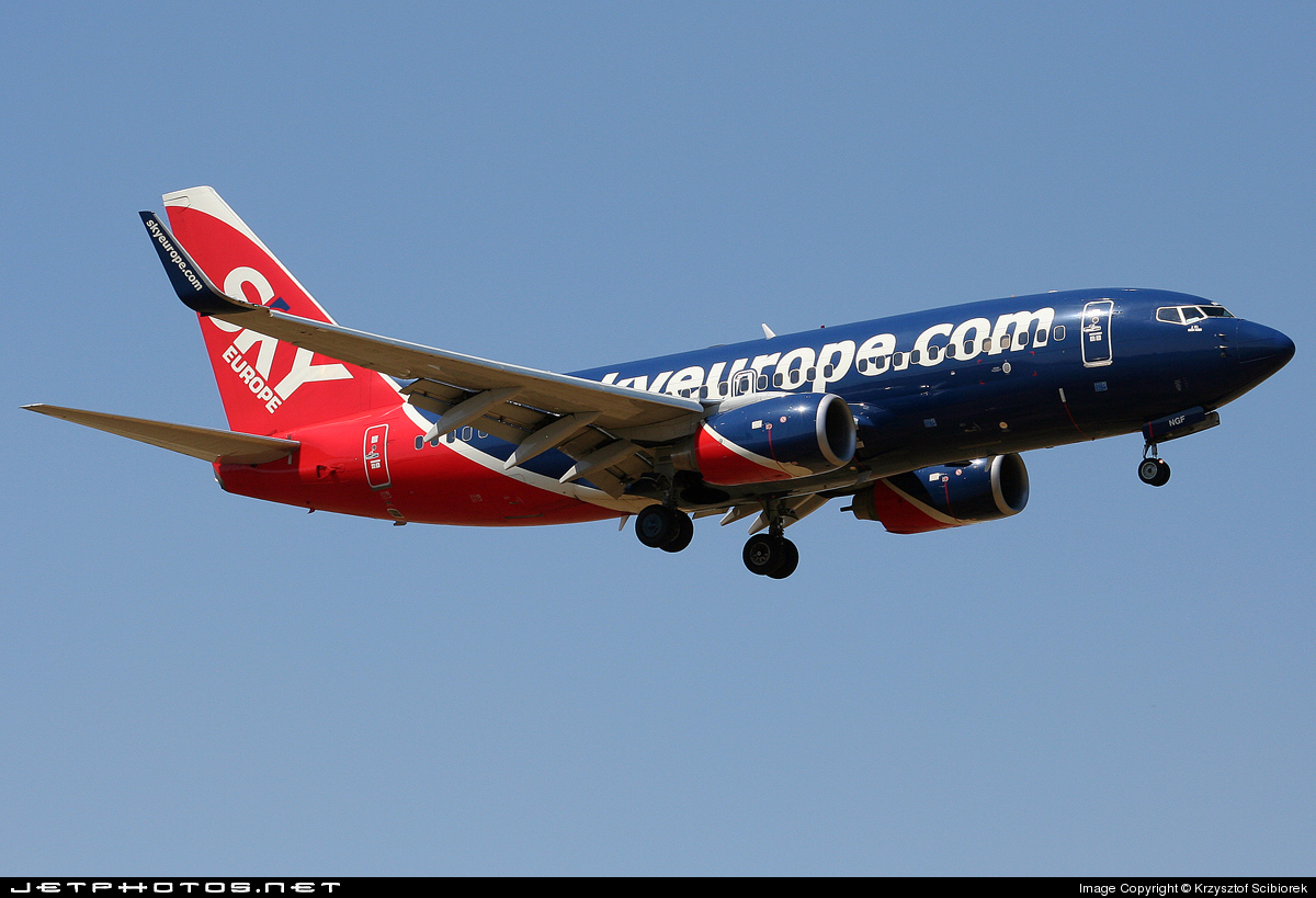 OM-NGF - Boeing 737-76N - SkyEurope Airlines
