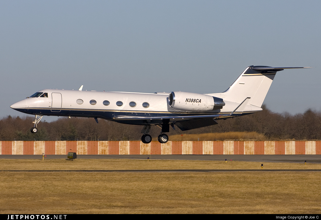 N388CA - Gulfstream G-IV - Private