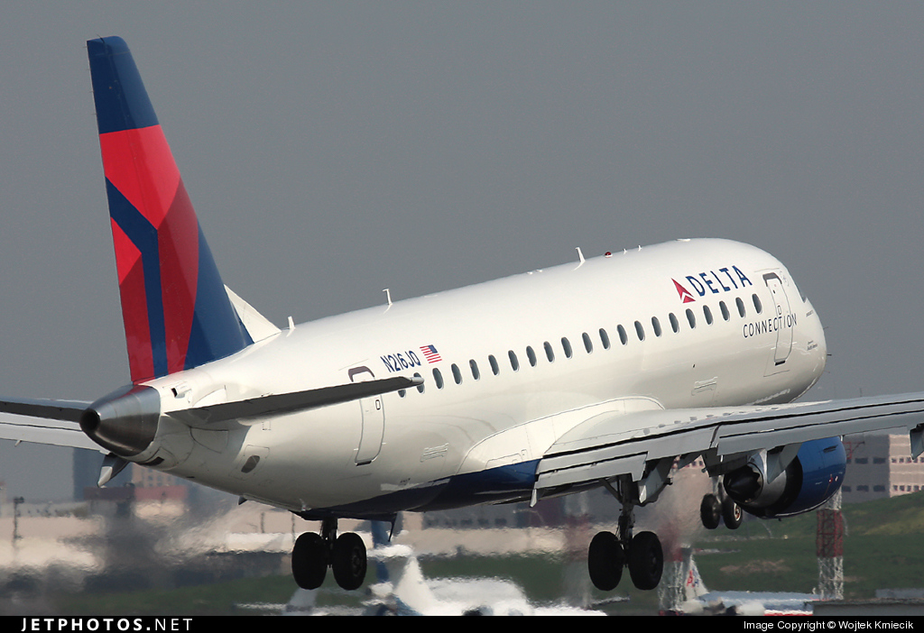 N216JQ - Embraer 170-200LR - Delta Connection (Shuttle America)