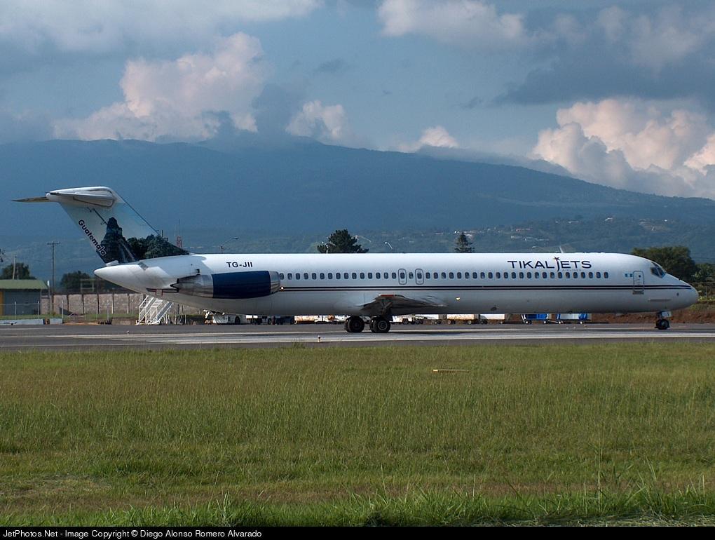 TG-JII - McDonnell Douglas DC-9-51 - Tikal Jets