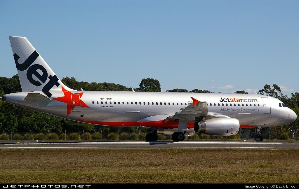 VH-VQO - Airbus A320-232 - Jetstar Airways